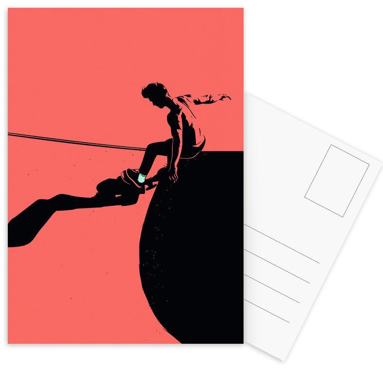 Skate, SKB 04 cartes postales