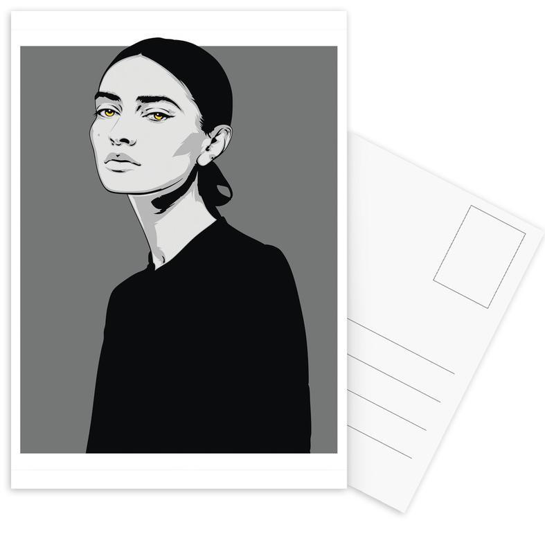 Schwarz & Weiß, CV 05 -Postkartenset