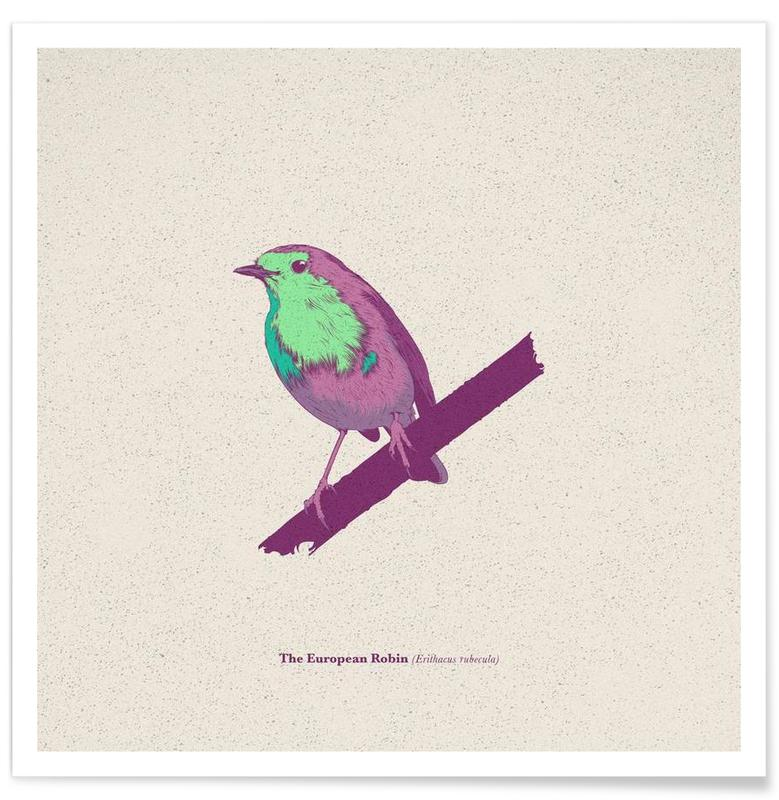 , Bird 02 affiche