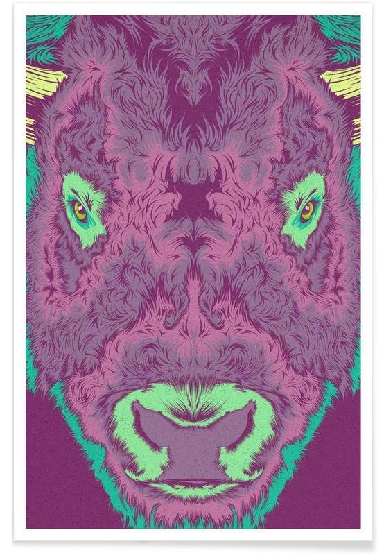 Bisonte -Poster