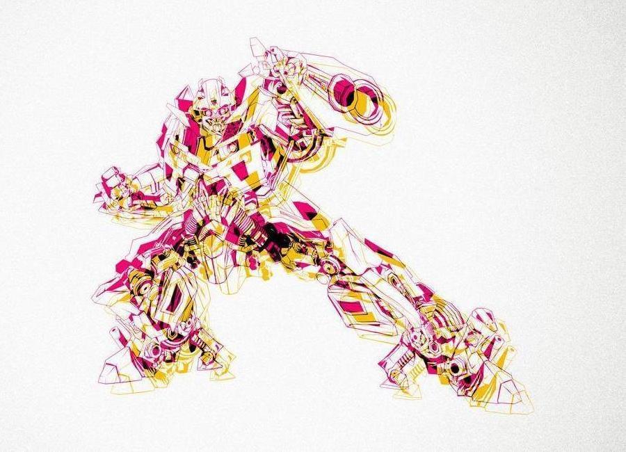 Bumblebee YellowMag -Leinwandbild