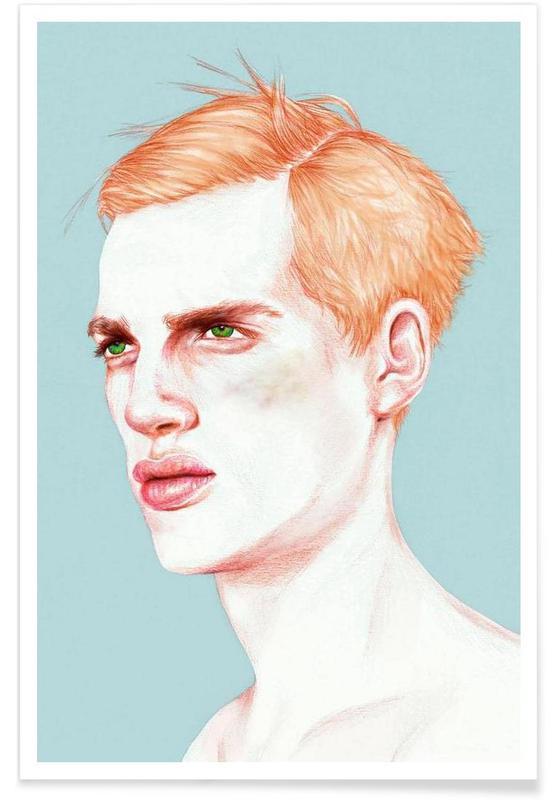 Boy Bruised -Poster