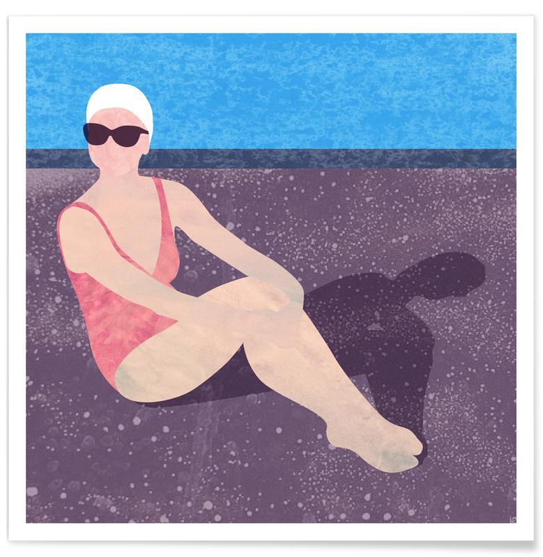 , Poolside Poster