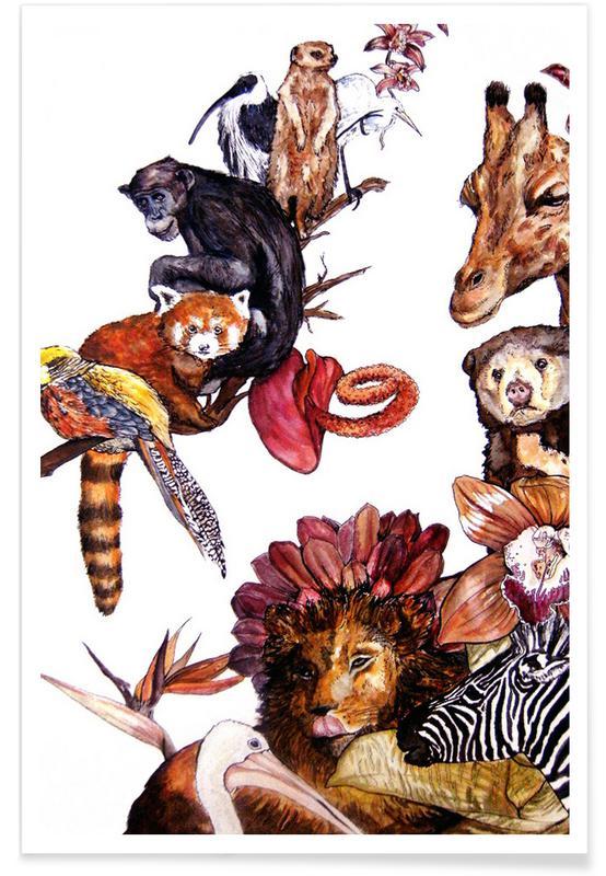 Nursery & Art for Kids, Similarities Poster