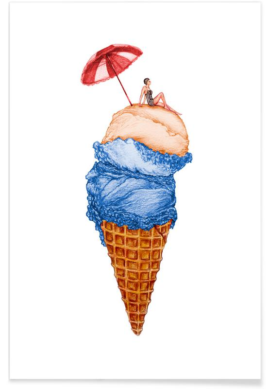 Glaces, Summer Vacation affiche