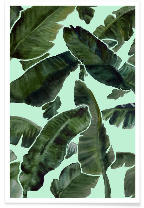 Leaves & Plants, The Vacation Mint Poster