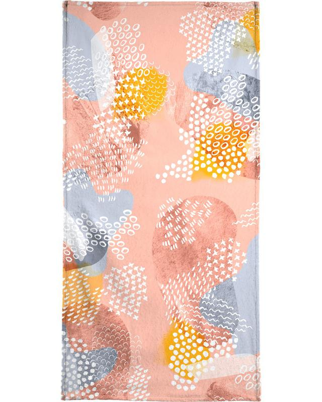 Patterns, Cake Shop Bath Towel