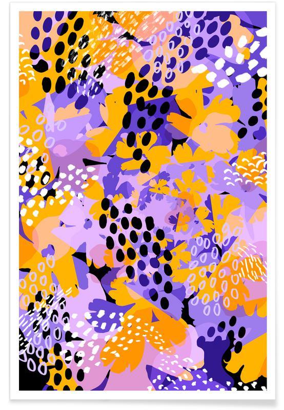 , Honeycomb Poster