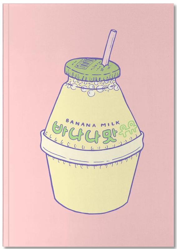 Banana Milk Notebook