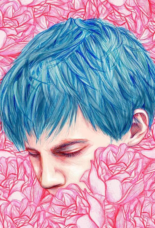 Drown acrylglas print