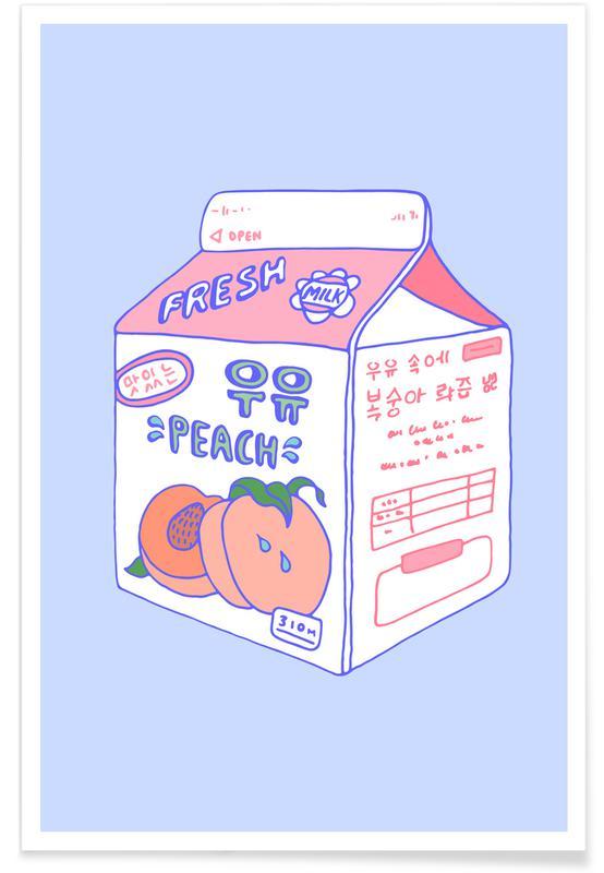 , Peach Milk -Poster