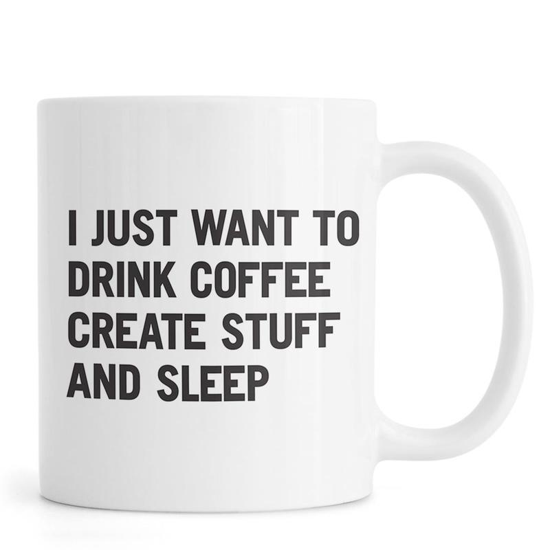 Coffee Create Sleep -Tasse