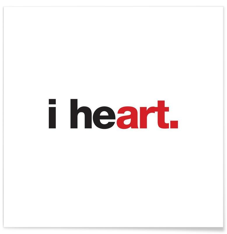 I Heart affiche