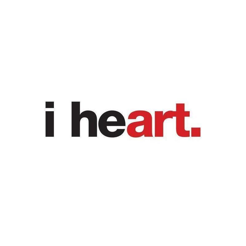 I Heart -Leinwandbild
