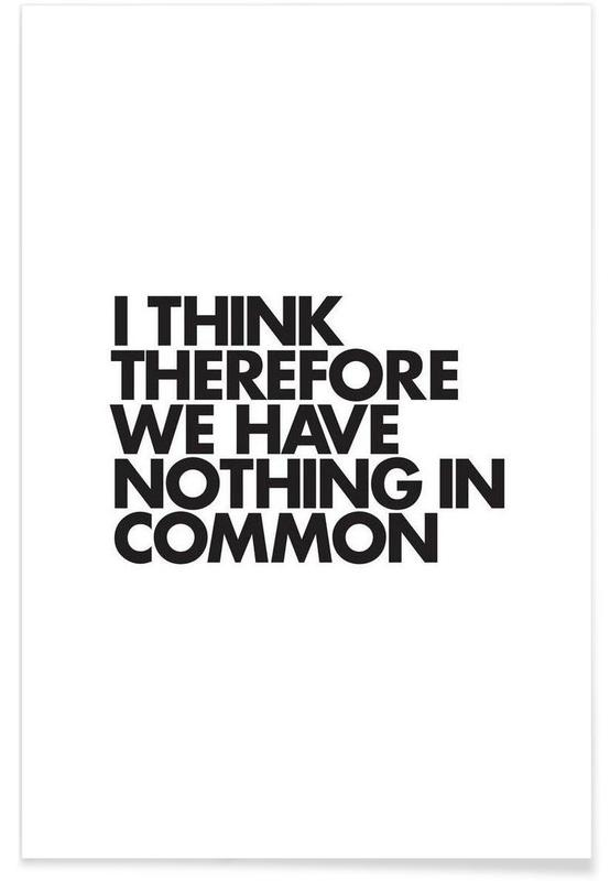 Nothing In Common poster