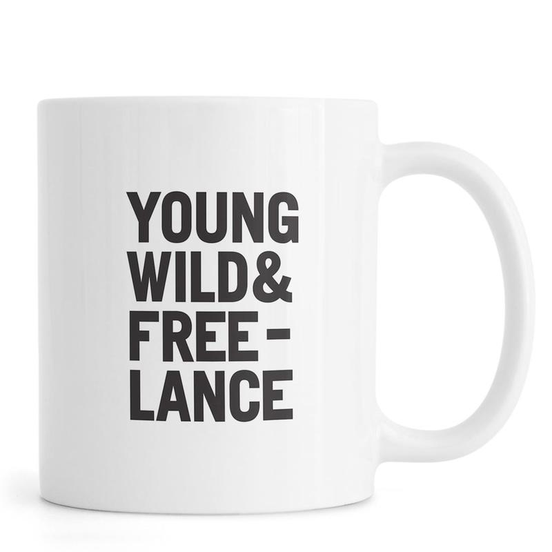 Young Wild & Freelance -Tasse