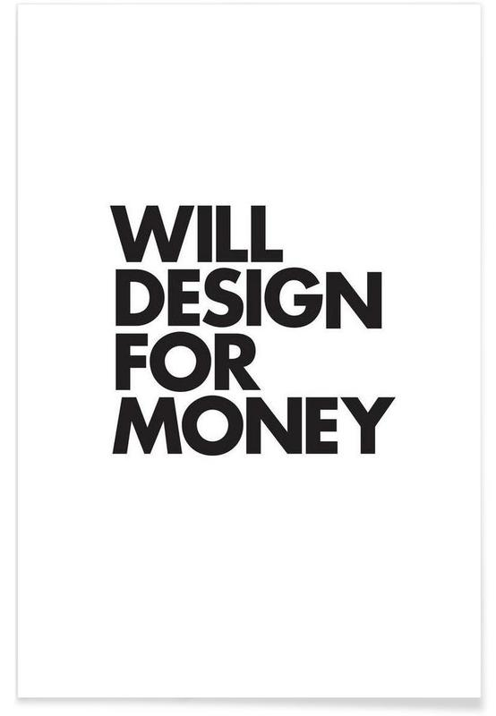 Design For Money -Poster