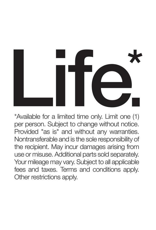 Life* (Black) -Alubild