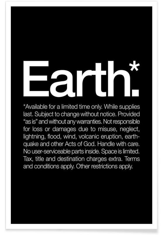 Earth* affiche