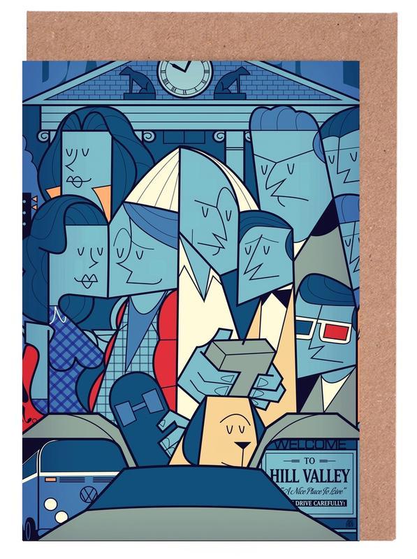 Films, Back to the future cartes de vœux