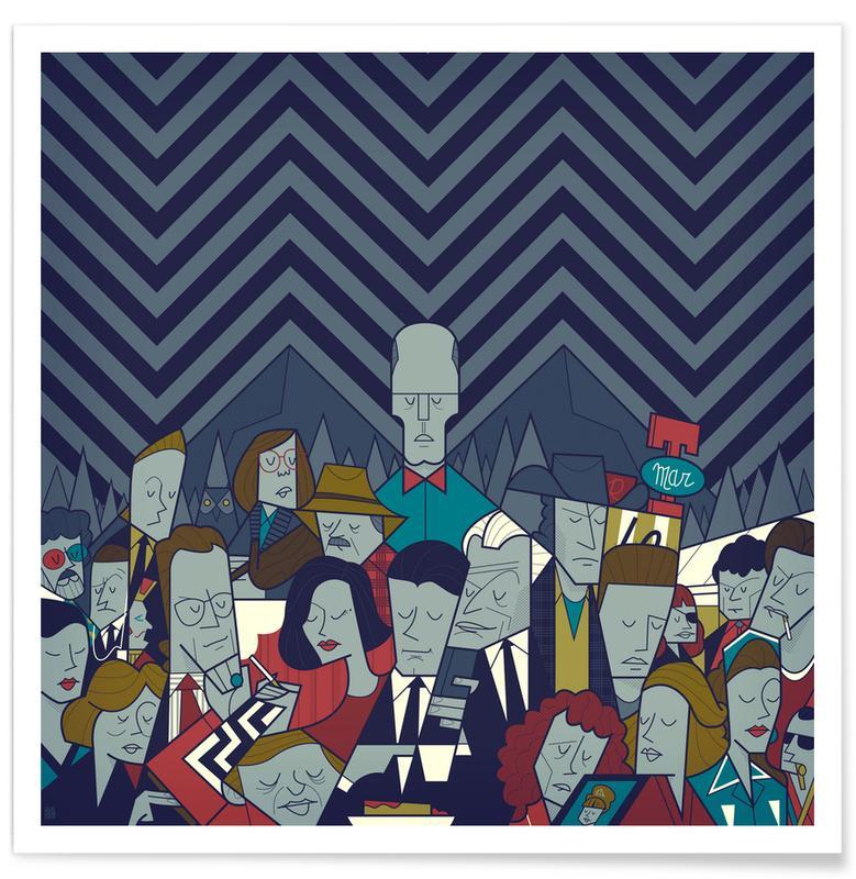 Filme, Twin Peaks -Poster