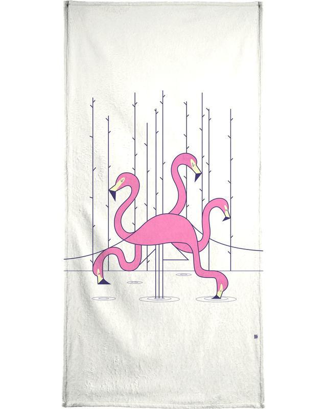 Flamingo -Handtuch