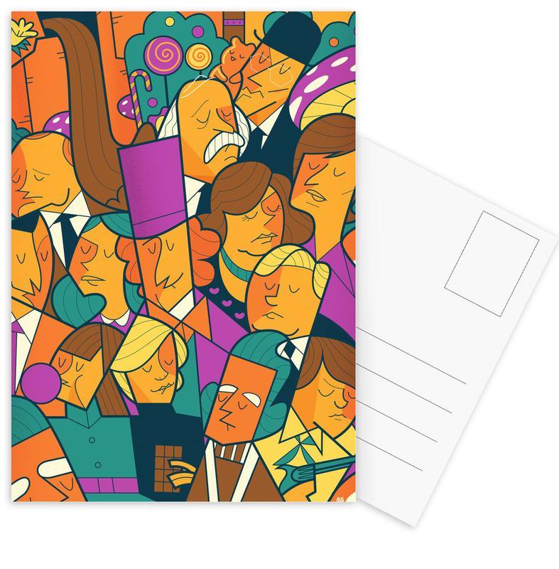 Willy Wonka -Postkartenset