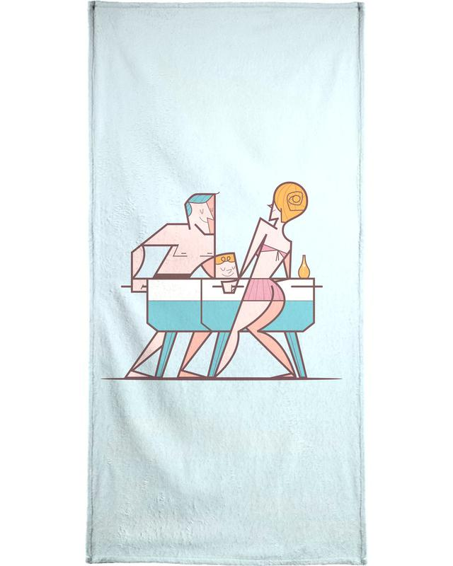 , Biliardino Beach Towel
