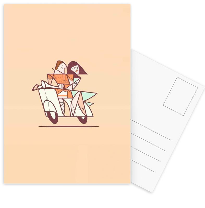 Cinecitta -Postkartenset