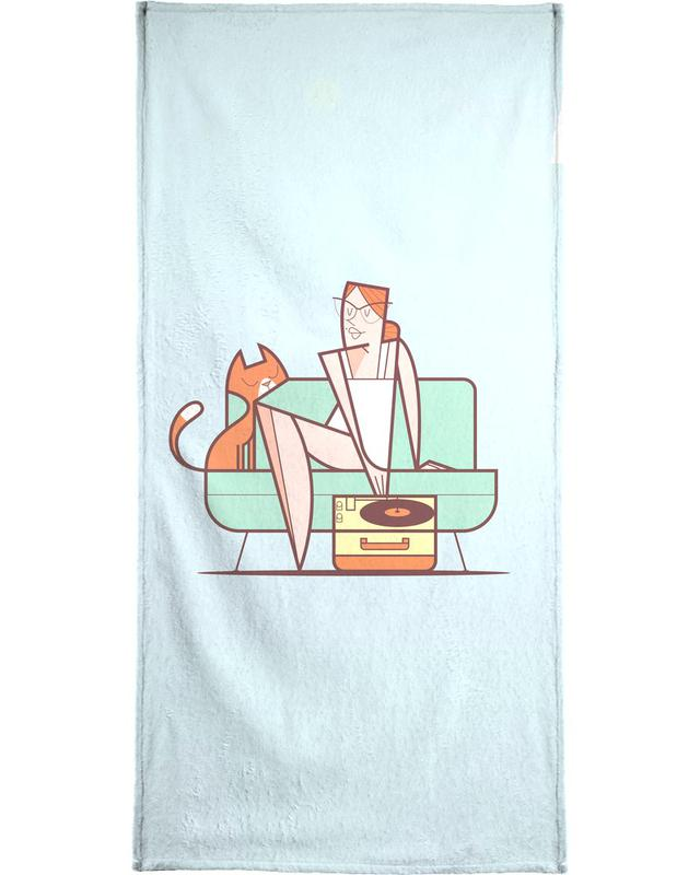Giradischi -Handtuch