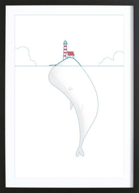 The Lighthouse Keeper Framed Print