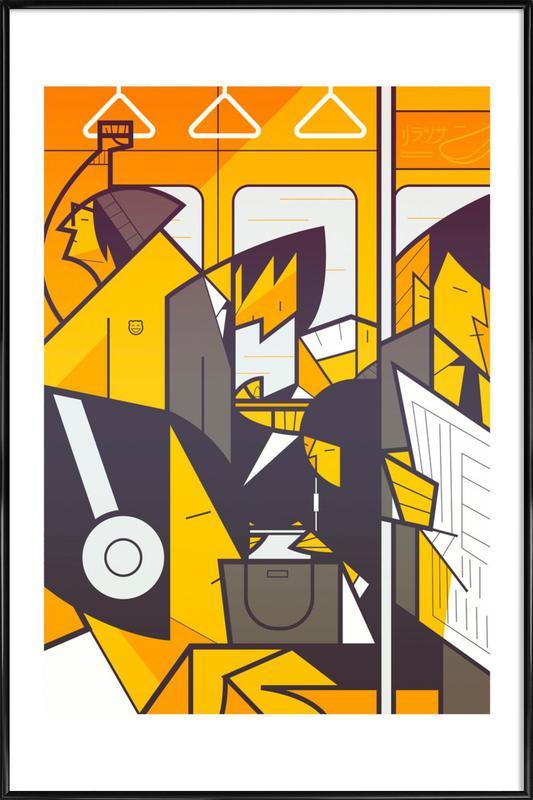 Tokyo Frames Metro Framed Poster