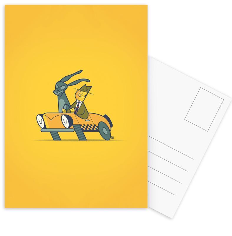 Who Framed Donnie Darko -Postkartenset