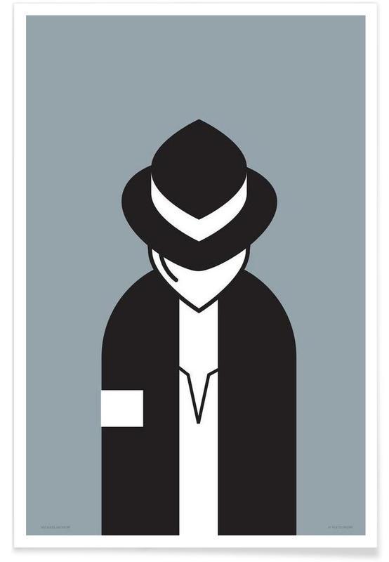 Michael Jackson, Michael affiche