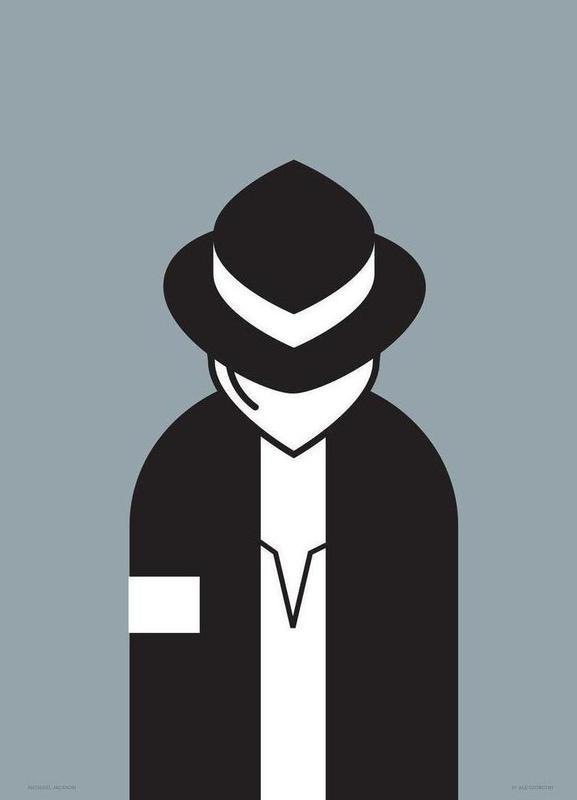 Michael canvas doek