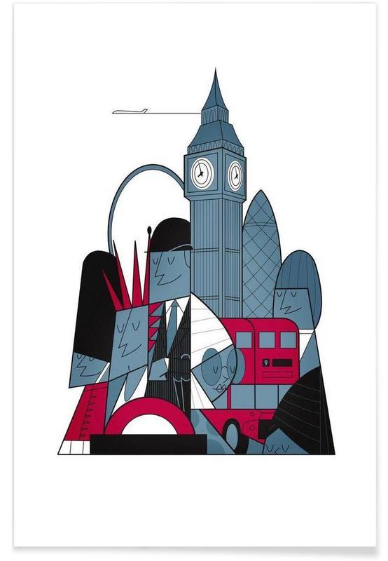 London, London Plakat