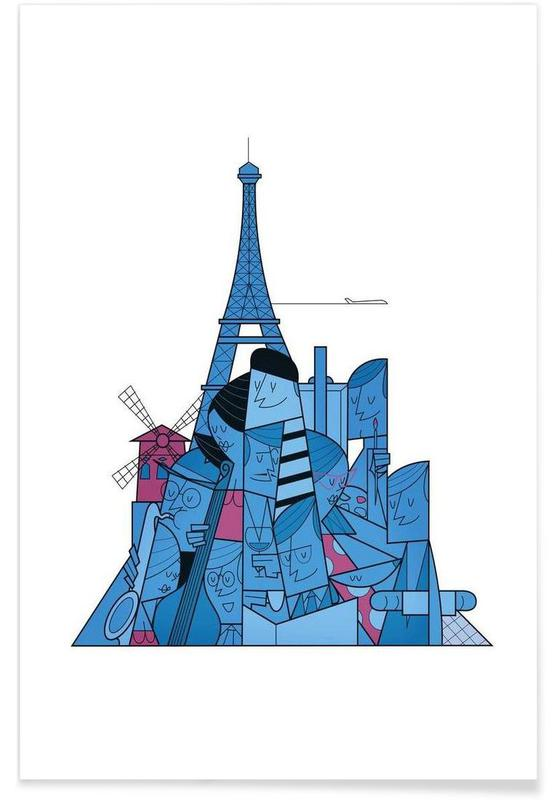 Paris, Paris -Poster
