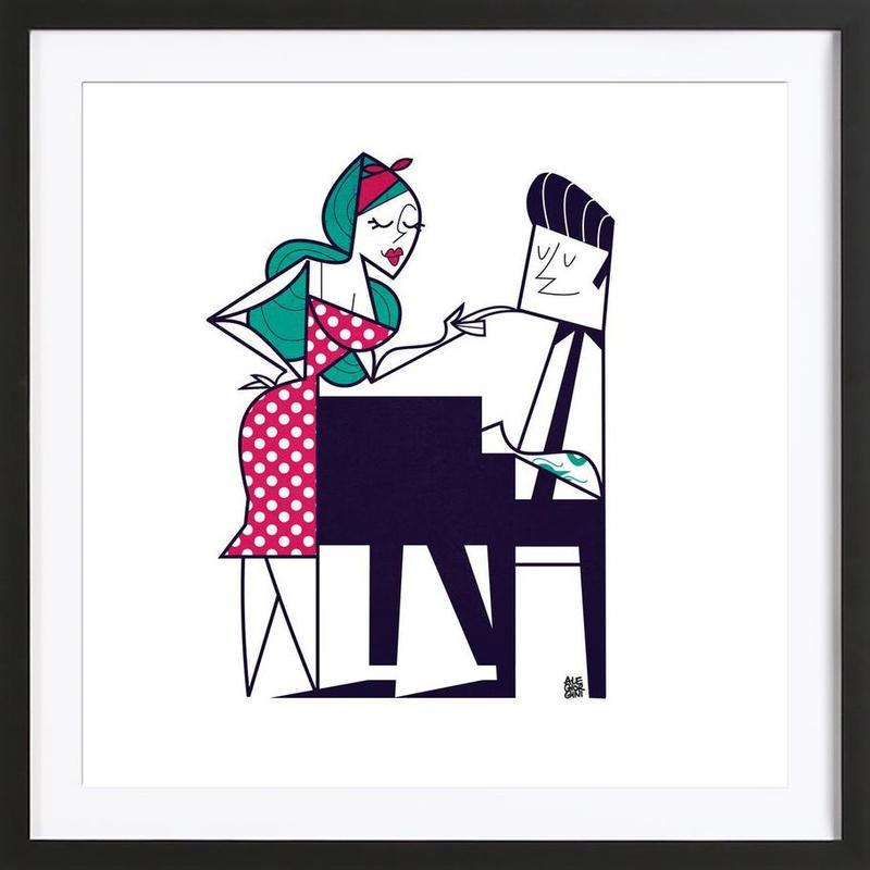 Play it again Framed Print