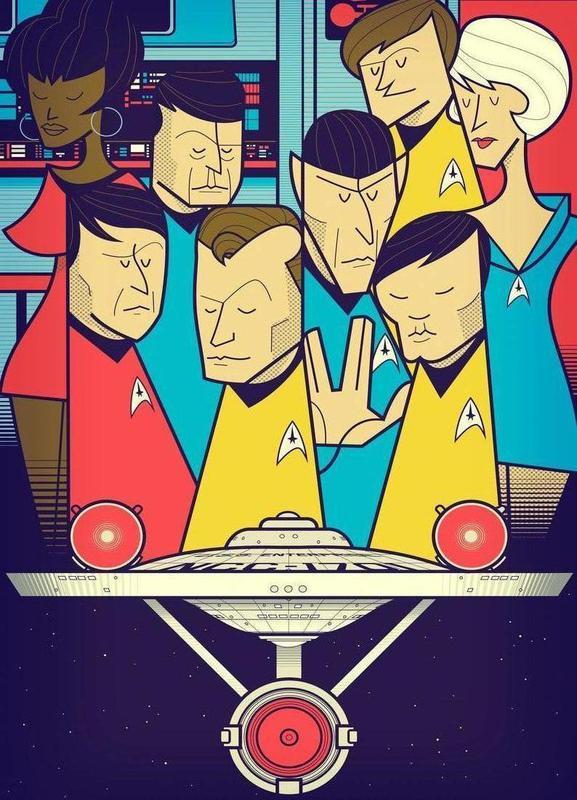 Enterprise canvas doek