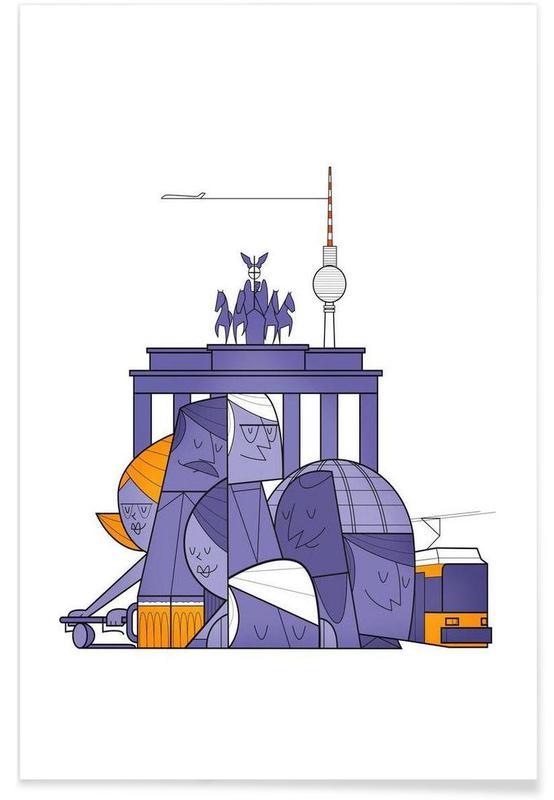 Berlin, Burgers, Berlin affiche