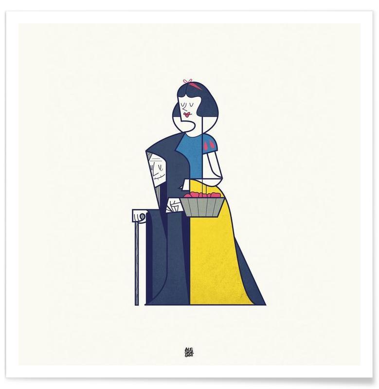 Art pour enfants, My heart is yours affiche