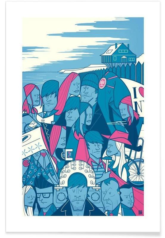 Filme, Retro, LACUNA -Poster