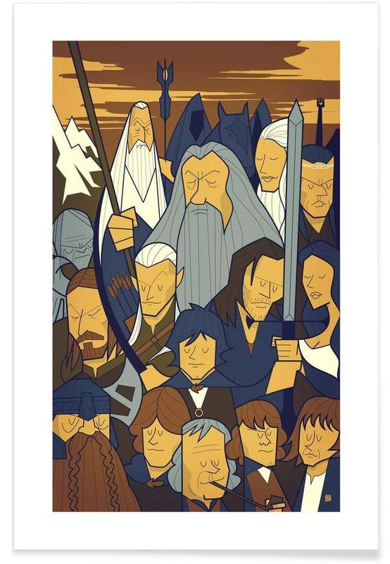 Films, LORD OF THE RINGS 1 affiche