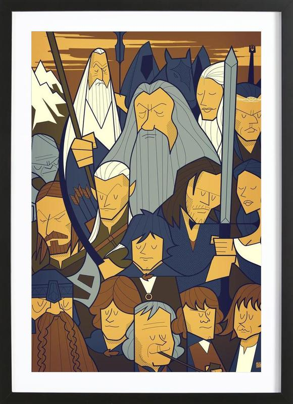 LORD OF THE RINGS 1 Framed Print