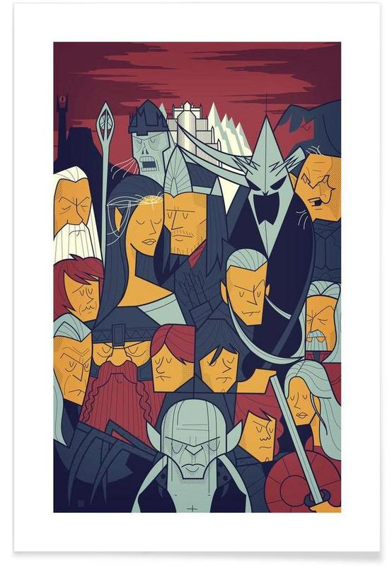 LORD OF THE RINGS 3 affiche