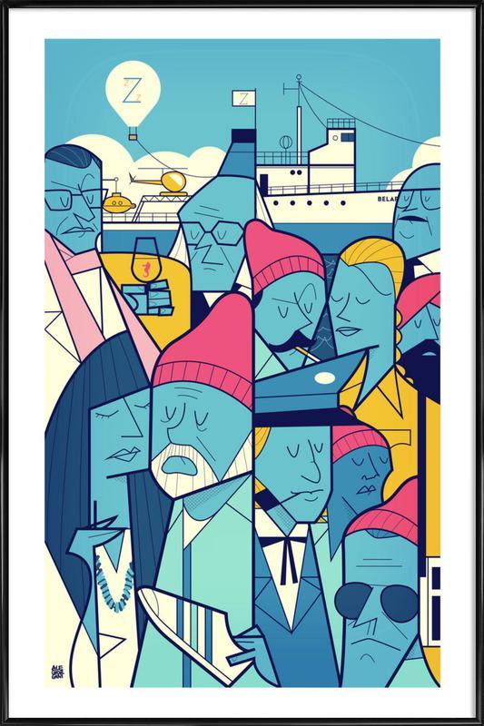 ZISSOU Framed Poster
