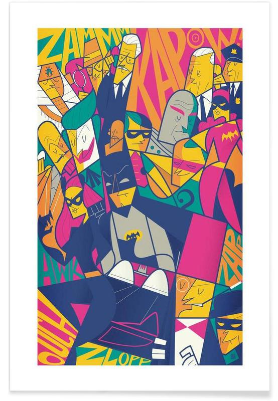 Batman, Films, Batman affiche