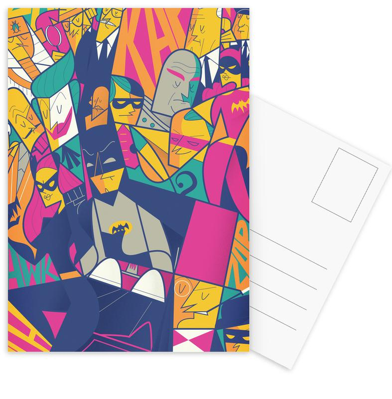 Batman, Movies, Batman Postcard Set