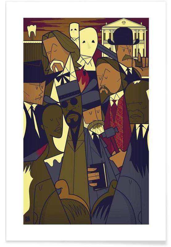 Films, DJANGO affiche
