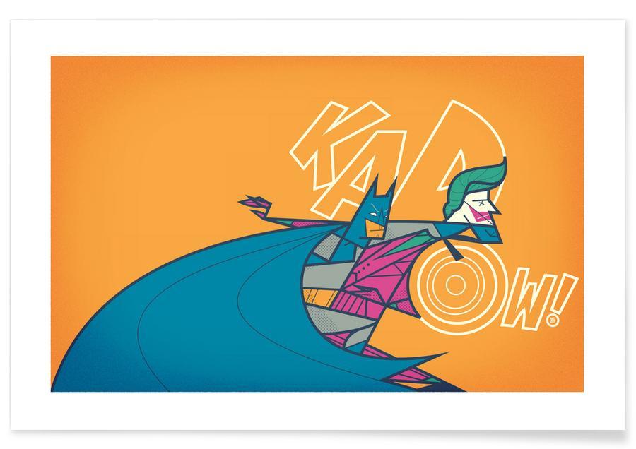 Batman, Batman Kapow -Poster